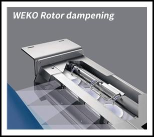 WEKO Rotor dampening 液体塗布装置 WEKO ローターダンプニング